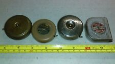 Vtg Measuring Tapes Lot Oxwall, White Chief Carlson, Brownie Master, Handi-Rule