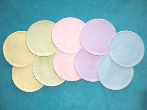 Organic Reusable Washable Breastfeeding Nursing Pads Leakproof Waterproof Eco