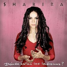 FREE US SHIP. on ANY 2+ CDs! ~Used,Good CD Shakira: Donde Estan Los Ladrones
