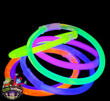 "5000 X 8"" GLOW STICKS BRACELETS 100 FREE BALL CONNECTOR"