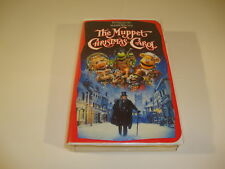 The Muppet Christmas Carol VHS Classic Movie Disney