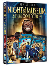 Night at The Museum DVD 3 Film Collection Ben Stiller 2 Discs Factory