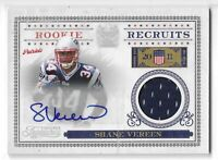 2011 TIMELESS TREASURES SHANE VEREEN ROOKIE RECRUITS AUTO JERSEY #7 PATS /100