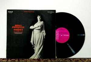 Rosa Ponselle As Norma And Other Famous Heroines, 1970 LP, Romantic Opera - NM