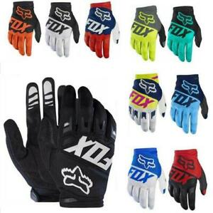 FOX Mens Full Gloves Racing Motorcycle Gloves Cycling Bicycle MTB Road Riding