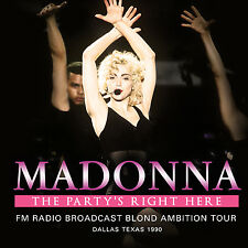 MADONNA New Sealed 2017 UNRELEASED 1990 DALLAS TEXAS LIVE CONCERT 2 CD SET