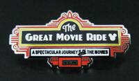 🎬 Rare 2019 Walt Disney's The Great Movie Ride WDW Attraction Hidden Mickey Pin
