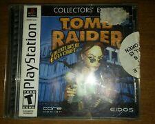 Tomb Raider III 3 ORIGINAL Black (Sony Playstation 1 ps1) Complete