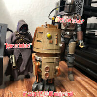 "Custom Painted Star Wars Solo DD-BD Mining Droid Figure 1:12 6"" Scale"