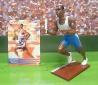 1996  MICHAEL JOHNSON - Starting Lineup OLYMPIC Figure & Card - Timeless Legends