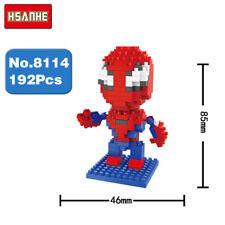 Hsanhe Marvel Hero Avengers Spider Man DIY Diamond Nano Blocks Mini Building Toy