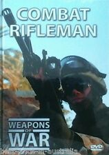 WEAPONS OF WAR: Combat Rifleman DVD + BOOK WORLD WAR ONE TWO WWI II BRAND NEW R0