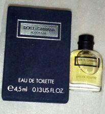 Miniatur Flakon  Dolce Gabbana pour Homme Eau deToilette 4,5 ml