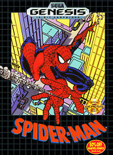 Spider-Man For Sega Genesis Vintage