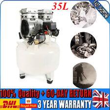 35L Air Compressor Oil-Free Silent Compressor Small Car air pump Woodworking UK