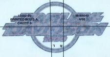 HARLEY DAVIDSON FUEL GAS TANK STICKER EMBLEM DECAL 13902-99 1200 Vintage USA
