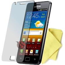 3 Pellicola Per Samsung Galaxy S2 Plus i9105 S2 I9100 Salva Schermo Pellicole