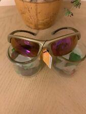 NEW Men SOL Sunglasses Fishing Eyewear Bronze Purple Mirror Sport #Water Dog