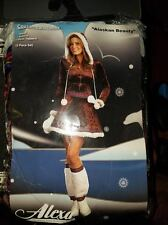 Alexa-Sexy Alaskan Beauty Eskimo Adult Costume Size:small new in package