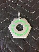 Vintage KBCO/COORS Keychain~  1991 Kinetic Sculpture Challenge-