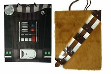 Star Wars Gift Bags Darth Vader and Chewbacca Set, 2 Pack