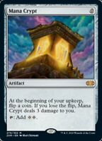 Magic the Gathering (mtg): Double Masters: Mana Crypt - Rare - foil