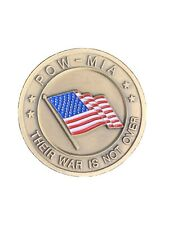 POW MIA Their War Is Not Over Challenge Coin CC29 You Are Not Forgotten