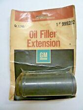 NOS 1975-1992 GM CHEVROLET OIL FILLER EXTENSION TUBE #999282 CAR & TRUCK NIB