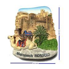 Marrakech Morocco Camels 3D Resin TOY Fridge Magnet