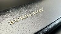 NEW BURBERRY AUTHENTIC SUNGLASSES EYEGLASSES LEATHER HARD SM BLACK CASE ONLY