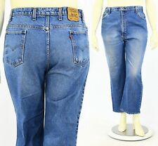70s Vintage Plus Womens 18W Levis 517 High Waist Jeans Orange Tab Stone Washed