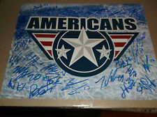 TRI CITY AMERICANS 2014-15 WESTERN HOCKEY LEAGUE 11 X 14 MATTE PHOTO 24 SIGNED