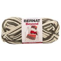 Bernat Beyond Yarn Soft Acrylic Blend Super Bulky #6 Knit Crochet