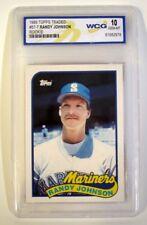 1989 Topps Traded #57-T RANDY JOHNSON  *GEM MINT WCG GRADED 10* - Free Shipping