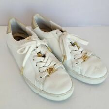 Michael Kors Irving white and Gold sneakers 6.5