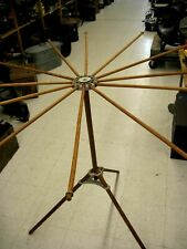 """ANTIQUE """"Artmoore Company"""" WOOD COLLAPSIBLE DRYING RACK LAUNDRY CLOTHES"""