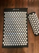 ProSource Fit Acupressure Mat and Pillow Set - Black