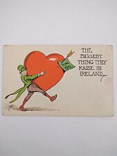 Postcard Biggest Thing They Raise In Ireland 1915 The Pink Of Perfection