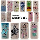 Etui coque housse Silicone transparente TPU case cover Samsung Galaxy J5 (2016)