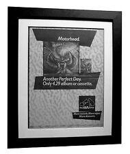MOTORHEAD+Perfect Day+POSTER+AD+RARE ORIGINAL 1983+FRAMED+EXPRESS GLOBAL SHIP