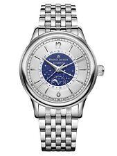 Reloj Automático Maurice Lacroix les Classiques Moonphase plata brazalete