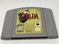 The Legend Of Zelda: Ocarina Of Time N64 Nintendo 64- Authentic