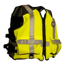 MUSTANG HIGH VISIBILITY INDUSTRIAL MESH VEST SM/ME