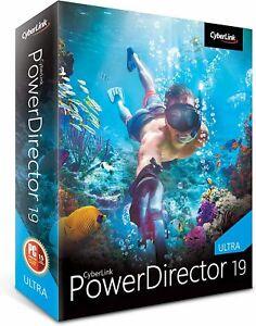 CyberLink PowerDirector 19 Ultra - [PC]