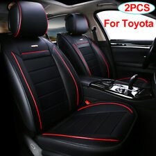 Universal Car Seat Cover 2PCS Auto Accessories Fit for Toyota CHR RAV4 Tacoma