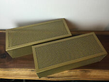 BRAND NEW REPRODUCTION PAIR MARANTZ MODEL 2 TUBE CAGE ONLY** (MADE IN USA)