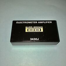 BURR BROWN 3430J 3430-J ELECTROMETER AMPLIFIER 7PIN NEW OLD STOCK FREE SHIP