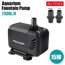 1500-6000 LPH Aquarium Pump Water Submersible Fish Tank Fountain Pond Marine