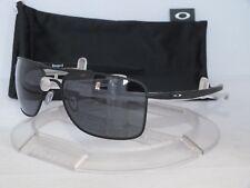 OAKLEY GAUGE 8 M AVIATOR SUNGLASSES OO4124-0157 Matte Black / Grey 01