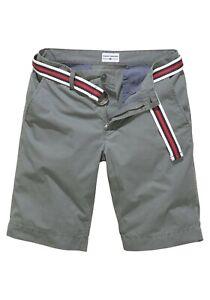544465/K78 TOM TAILOR Polo Team Shorts (Set, mit Gürtel) Gr.31 NEU olive